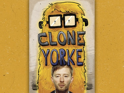 Clone Yorke thom yorke radiohead draw comics bd illustration cover art cover