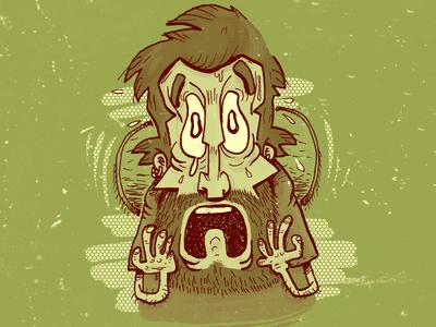 Peur scary comics illustration bd draw