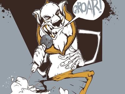 Klakomaniak illustration draw