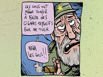 Fidel Castro fidel castro bd comics draw