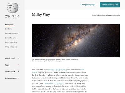 Wikipedia Redesign typography white spaces redesign wikipedia