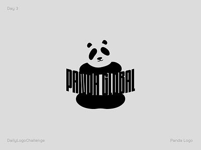 Panda Logo day3 globalpanda globalpanda panda logo dailylogochallenge panda logo