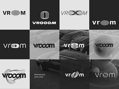 vrooom logo design ideas branding concept branding design brand identity branding vrooom logotype ideas scetch driverless car dailylogochallenge logo