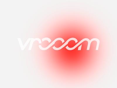 Vrooom branding concept branding carlogo dailylogochallenge vrooom car logo concept logo design logo