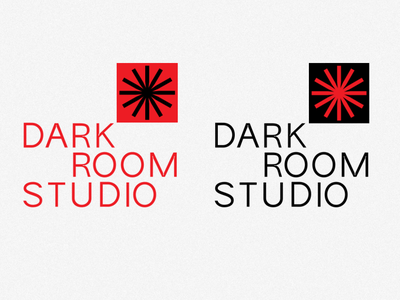 dark room studio logo photos photographerlogo darkroomstudio branding logo dailylogochallenge