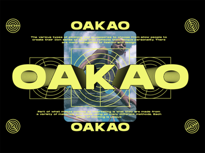 OAKAO oakaologo dailylogochallenge branding logo fashion oakao