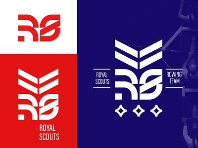 sport logo rowing team dailylogochallange royalscout branding sportlogo sport logo