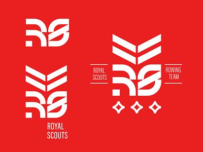 Royal Scout logo identity sports branding dailylogochallange royalscout sport logosport vranding logo