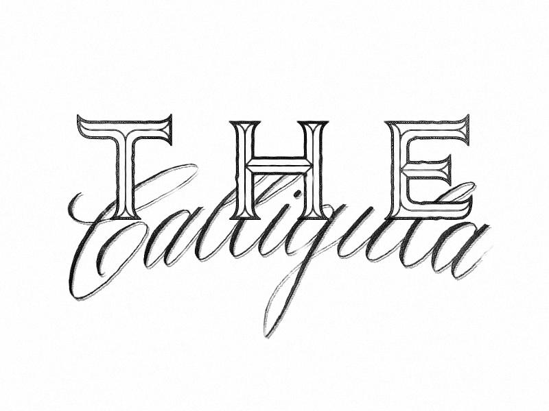 The Calligula Font by P  Von Haggen  on Dribbble