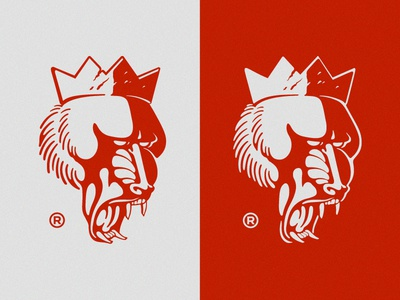 Once King Co. old world primate primate mma branding fight fight supply fight gear mandrill king warrior