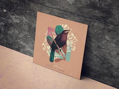 Lucas Borchardt - Águas de Março / Remix house music vinyl tribe remix music brazilian music tropical experimental classic bird album cover
