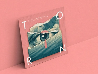 TORN. producer dj deep house marina diniz album cover remix sad eye music torn