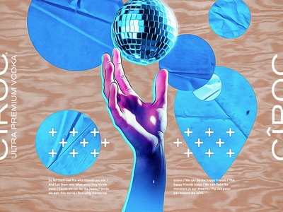 Marina Diniz - CÎROC activation. house music ciroc vodka track album cover cover art ballons party holographic modern