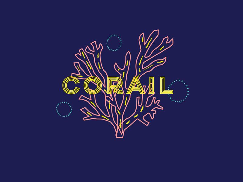 Corail brand identity brand identity coral reef coral ocean branding illustration logo design