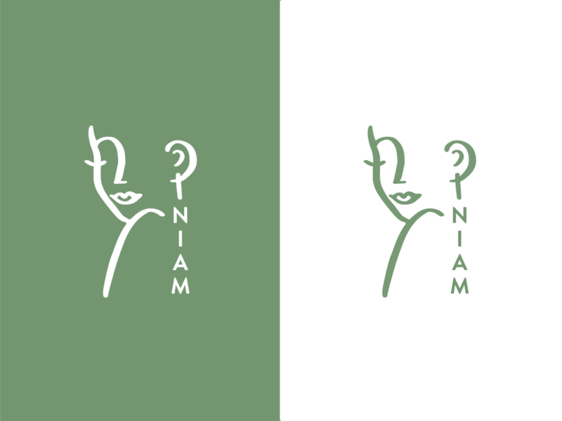 NIAM Branding minimalistic hand drawn brand identity idenity logo design brand branding branding design jewerly logo design