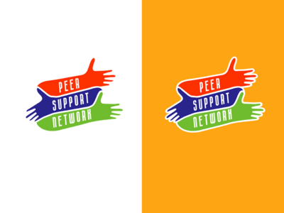 Peer Support Network Logo design branding identity logo design logo