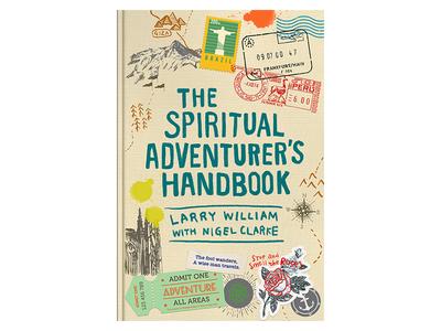 Adventurer's Handbook graphic design print design fun illustration journey travel illustrations hand drawn book cover design book cover book art book