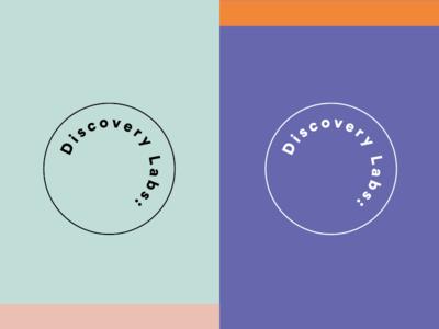 Discovery Labs logo identity design identity branding logo