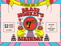 Brass Monkey Event Cover