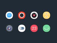 Mobile theme icon