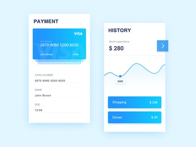 Spending page