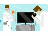 VivifyScrum EDU illustration monitor repairs