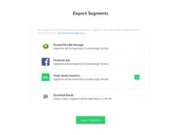 Export Segments