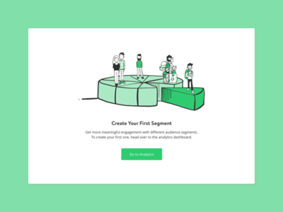 Create Your First Segment yieldr audience create segment state empty