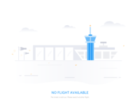 Empty State -3 (no flight available)