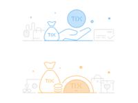 Tix Point Icon