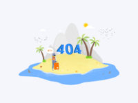 Tiket.com 404 Page