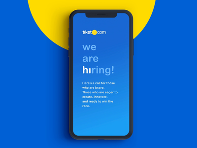 Hiring UI designer tiket.com apps illustration attraction rentcar hotel train event flight travel tiketdesign product tiket ui. uidesigner uidesign hiring