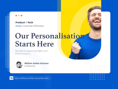 Medium Article - Our Personalisation Starts Here