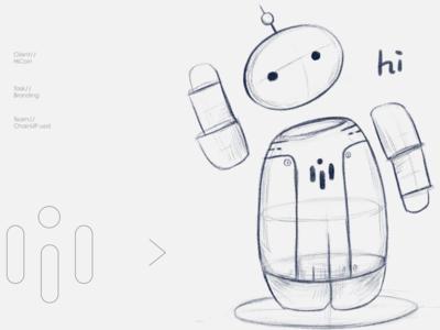 HiCoin Mascot design