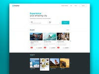 DailyDeal Landing Page Concept
