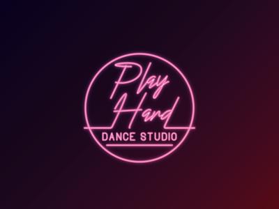 Play Hard Dance Studio Logo