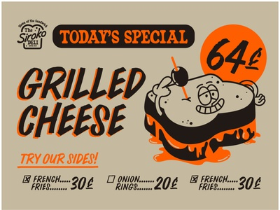 Grilled Cheese cheese vector design illustration ai sandwich