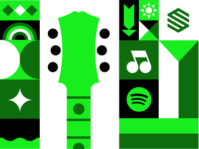 Spotify Premium Subscription design siroko ai vector illustration
