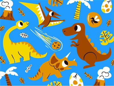 Dinosaurs ai illustration design animals dinosaurs dino