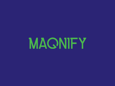 Magnify Wordmark wordmark branding logo