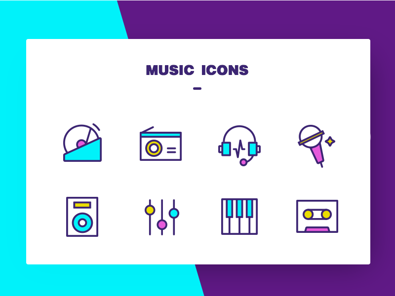 Music icons by T7