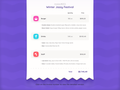 Digital Invoice Template