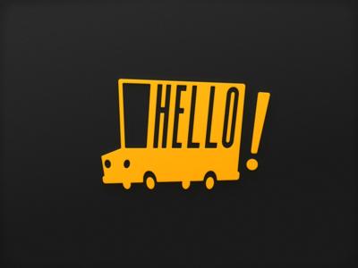 Hello Truck Logo