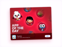 PlayKids' App of the Day Imagery
