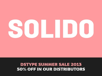 Summer Sale Suggestion: Solido