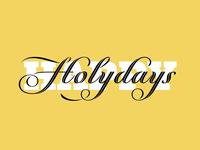 Happy Holydays