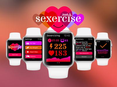 Sexercise ~ Apple Watch Concept