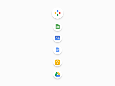 My Goole Dock figma protopie animation redesign gmail dock google