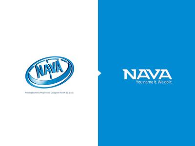 Nava redesign rebranding redesign design typography brand identity brand design brand logodesign branding logo