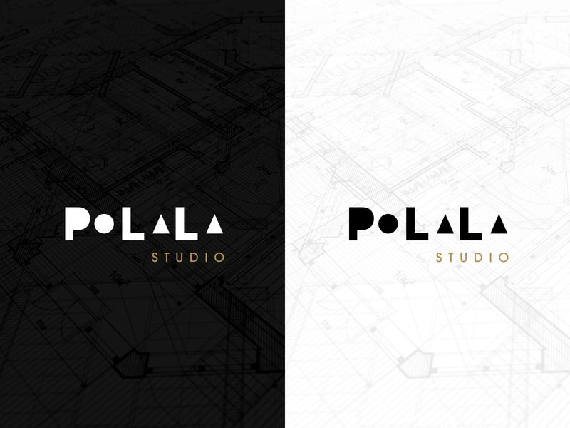 PoLaLa Studio Branding architecture logo architecture design interior design interior typography design brand brand identity brand design logodesign branding logo